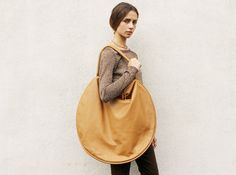 Leather Compass Bag from Maryam Nassir Zadeh by Jasmin Shokrian
