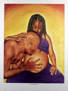 African American Love Art | Us blackart Fineart Posters and Prints Love & Cherish