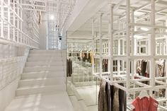 Stills Flagshipstore Amsterdam by DoepelStrijkers. A concept store that translates the distinctive Stills quality into a spatial identity resulting in a new retail typology.