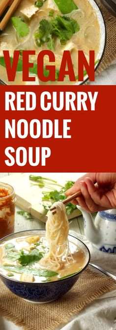 Red Curry Noodle Soup                                                                                                                                                     More
