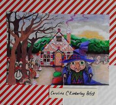 Hansel and Gretel inspired digital reproduction Print £8.50