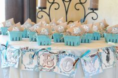 Western Turquoise Baby Shower   CatchMyParty.com