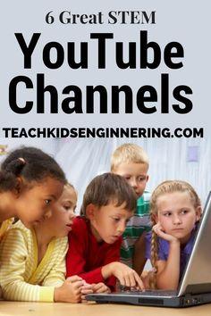 Great STEM YouTube Channels| Teach Kids Engineering