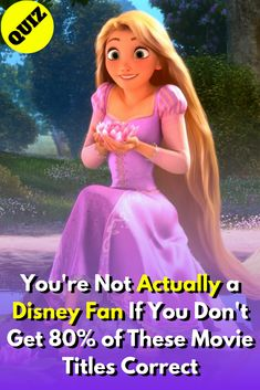 Sorry Disney fans. Unless you prove yourself, we won't believe you when you say you're actually a Disney fan. If you're up to the challenge, take our Disney movie title quiz that will challenge you with several iconic Disney movies. Disney Quizzes Trivia, Fun Quizzes, Princess Toys, Mermaid Princess, Disney Princess, Thomas The Train Engine, Mike And Ike, Disney Movies To Watch, Sword In The Stone