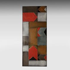 Roger Capron - Coffee table, circa 1960   Top with glazed ceramic tiles.  http://www.galerieriviera.com