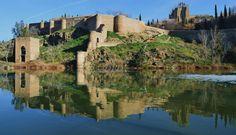 Toledo - Spain River Tagus . Toledo - Río Tajo . Толедо Испания - Река Тахо