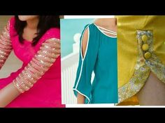 New Beautifull Stylish Kurti || kurta Side Designs 2017 -2018 - YouTube