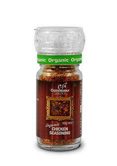 Connoisseur Selection Certified Organic Chicken Seasoning with Grinder - 60g Connoisseur Selection http://www.amazon.in/dp/B00N3VAT6I/ref=cm_sw_r_pi_dp_XnEXvb1WFQMP5