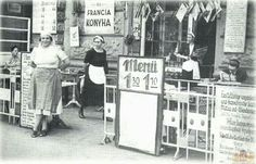 1927. Ferenc körút, Pápa kávéház terasza Budapest Hungary, 1, History, Retro, Pictures, Image, Roots, Restaurant, Times