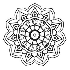 Mandalas Are Intricate Circular Designs That Supposed To Represent The Universe Coloring Can Be Both Fun And Therapeutic For Children