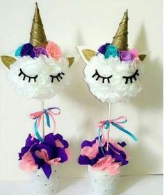 mias next birthday party Unicorn Birthday Parties, Birthday Party Themes, Birthday Tree, Birthday Ideas, Unicorn Centerpiece, Party Fiesta, Unicorn Baby Shower, Bday Girl, Diy Party