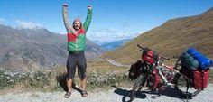 """Weltreise mit Fahrrad: """"Niemand dachte, dass ich es schaffe"""" - SPIEGEL ONLINE - Nachrichten - Reise"""