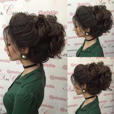 hair at Elstile Wedding Up Do, Wedding Ideas, Tiara Hairstyles, Bun Updo, Love Your Hair, Bridal Looks, Hair Designs, New Hair, Bridal Hair