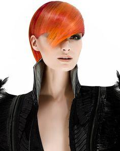 Fashion Color Collection by Schwarzkopf Color Director Rossa Jurenas focusonhair… - Modern Hc Hair, Schwarzkopf Color, Extreme Hair, Fantasy Hair, Fantasy Makeup, Hair Magazine, Ombre Hair Color, Red Ombre, Hair Colour