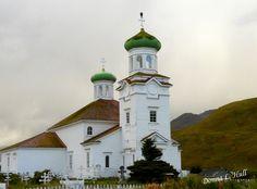 Photograph of Russian Orthodox Church, Dutch Harbor, Alaska