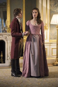 Jack Farthing and Heida Reed from BBC's Poldark   by UKTI