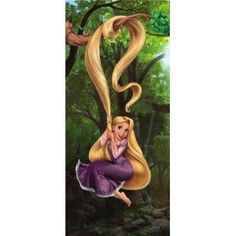 Tangled, Magic in Your Heart x Wallpaper Embossed Wallpaper, Wallpaper Roll, Wall Wallpaper, Rapunzel, Buy Wallpaper Online, Paradise Garden, Tropical Leaves, Decoration, Tangled