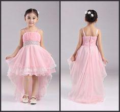 Venta al por mayor fábrica de 4 12 años Party Girl Dress 2016 nueva flor color de rosa de la muchacha vestidos trasero largo delantero corto niños vestidos de noche Btl 04 en Vestidos de Damita de Honor de Bodas y Eventos en AliExpress.com | Alibaba Group