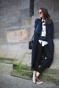 AndyTorres of Stylescrapbook.com looking effortless as ever in our AMELIE black jeans #riverisland #ridenim #bloggerstyle