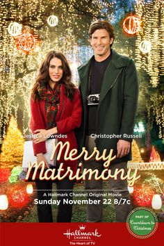 """Its a Wonderful Movie - Your Guide to Family Movies on TV: Hallmark Channel Christmas Movie """"Merry Matrimony"""" 22/11/15"""