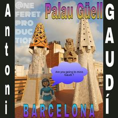 #Barcelona#palauguell#antonigaudi#playmobil Are you going to miss this #architectonic #beauty ? no te pierdas las #bellezas#arquitectonicas de este #genio..visita el palacio #Güell
