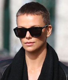 Buzz Cut: Charlize Theron