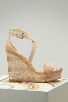 493173978f3 Buy Jimmy Choo Portia 120 suede wedge sandals online on 24 Sèvres.