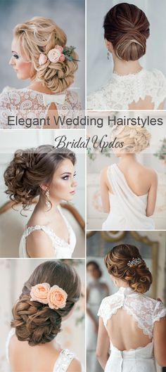 top 20 brdeal updo wedding hairstyle ideas