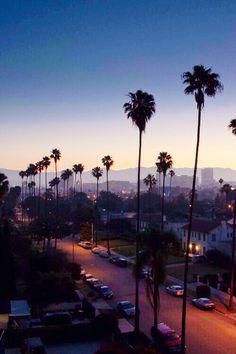 Cali sunset. Simply beautiful.