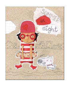 "SUSANA HOSLET- ILUSTRACION INFANTIL: IF ""SIGHT"""