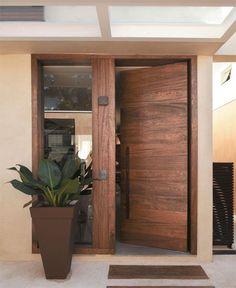 Chic, modern front door