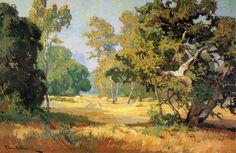 The Athenaeum - Summer Days, California Woodlands (Franz Bischoff - )