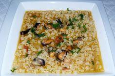 Sud Italia in Cucina: Rosmarina o Tubetti con le Cozze Nere Tarantine