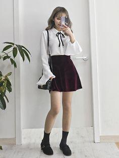 Pinterest☆*:.。.@Seoullum#NYC.。.:*☆ INS@seoullum.nyc__1112 Followme⭐️ Ulzzang Girl Fashion
