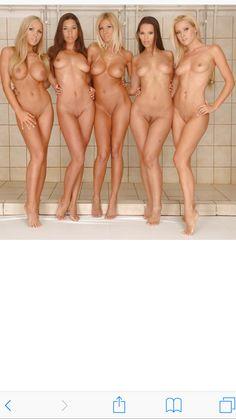 Girl sexy Group nude