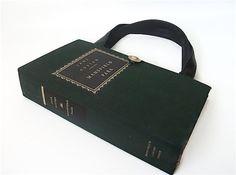 Book Purse Jane Austen Mansfield Park Book Handbag by retrograndma