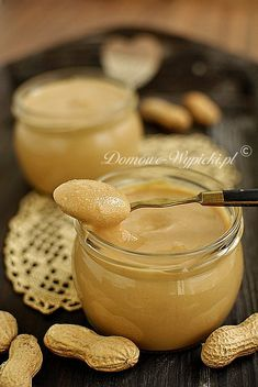 Masło orzechowe Kitchen Queen, Thermomix Desserts, Nutella, Food Processor Recipes, Clean Eating, Healthy Eating, Peanut Butter, Food And Drink, Favorite Recipes