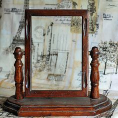 vintage wooden frame  from an estate sale home by CoolVintage