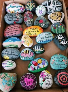 Drawing Ideas Nature Hippie 65 Super Ideas - Easy Crafts for All Rock Crafts, Crafts To Do, Crafts For Kids, Arts And Crafts, Easy Crafts, Rock Painting Ideas Easy, Rock Painting Designs, Paint Designs, Pebble Art