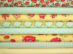Marmalade fat quarter bundle8 pieces2 by freshsqueezedfabrics, $19.00