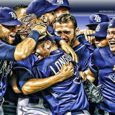 Tampa Bay Rays - Very cool rendition!