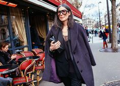 Véronique Tristram | Phil Oh's Best Street Style Pics From Paris Fashion Week
