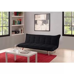 Emily Convertible Futon Multiple Colors | Old Navy Breakroom | Pinterest | Apartments Dorm and Room  sc 1 st  Pinterest : emily futon chaise lounger - Sectionals, Sofas & Couches