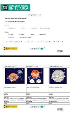 """3.1. Plantilla Guión Gráfico: creado con la herramienta """"StoryboardThat"""""""