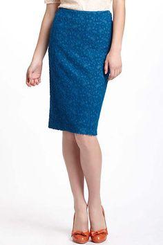 Lapis Lace Pencil Skirt by Moulinette Soeurs