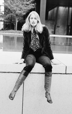 Cybil Shepherd by Jack Robinson who shot celebrity portraits for Vogue in the 1960s