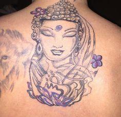 My Buddha Goddess tattoo. Absolutely love it!