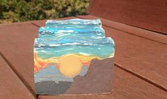 You might just choose to display Zarah Body Del Sol rather than cleanse with this vegan beauty bar! This layered soap depicts a sunset in the mountains, with a vibrant sky above and cliffs in the foreground. Scented with orange 10X essential oil and sandalwood, Del Sol features cocoa butter, rice bran, coconut, olive, and palm oils. This truly makes a great gift for men and women alike (convo me for special wrapping).  Please note that every bar of this very decorative soap is slightly…