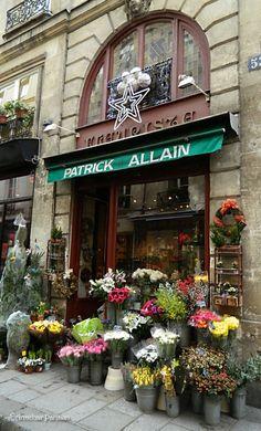♔ The Flower Shop, Patrick Allain   fleuriste Patrick Allain - Île de la Cité/Île Saint Louis