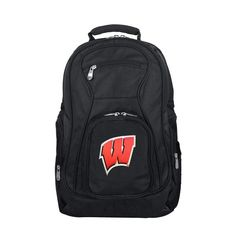 Premium Laptop Backpack Mojo Licensing Premium Laptop Backpack in Black | CLWIL704_GRAY Best Laptop Backpack, North Face Backpack, Black Backpack, Travel Backpack, Ohio State Buckeyes, College Shop, Mississippi State Bulldogs, Laptop Stand, Auburn Tigers
